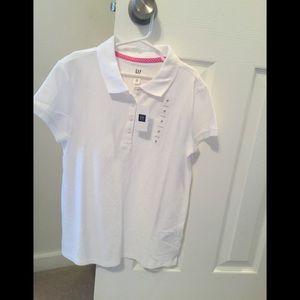 Gap girls uniform shirt